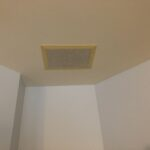 This client had old yellowing speakers all over their house so it was time to replace!.