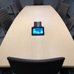 A nice clean setup for our client's boardroom
